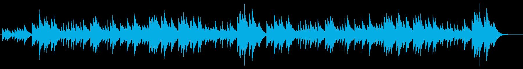 オルゴール思い出のアルバム(MONO)の再生済みの波形
