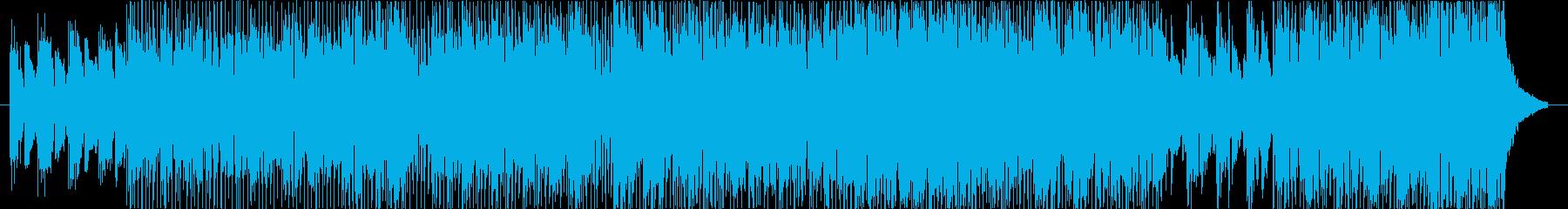 White And Blueの再生済みの波形