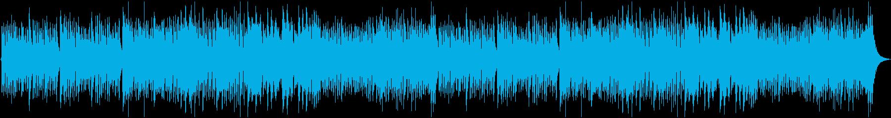 ダーク&コミカルなカーニバルの再生済みの波形