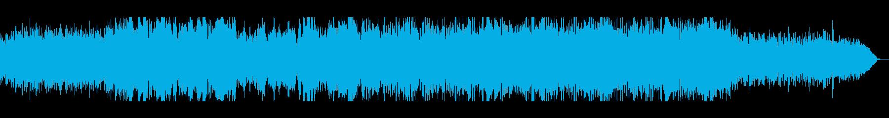 爽やかで美しいピアノシンセ管楽器サウンドの再生済みの波形