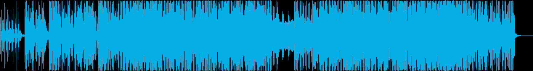 ゆるさわやか、アウトドアミディアムEDMの再生済みの波形