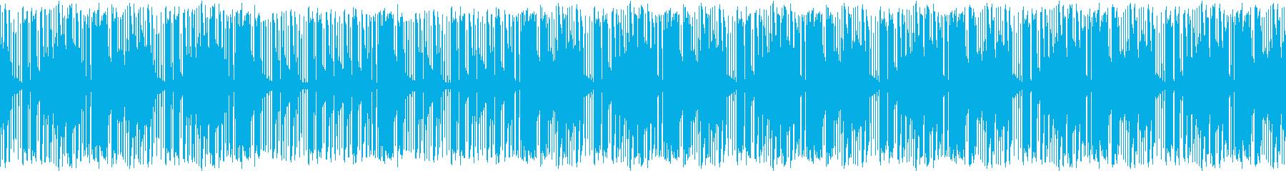 教材に合うBGMの再生済みの波形