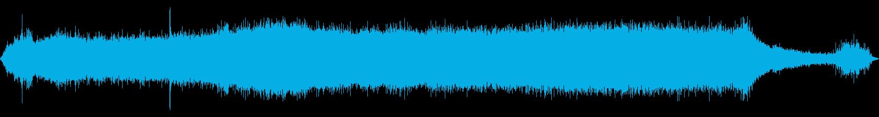 ツインエンジンファイアボート:オン...の再生済みの波形