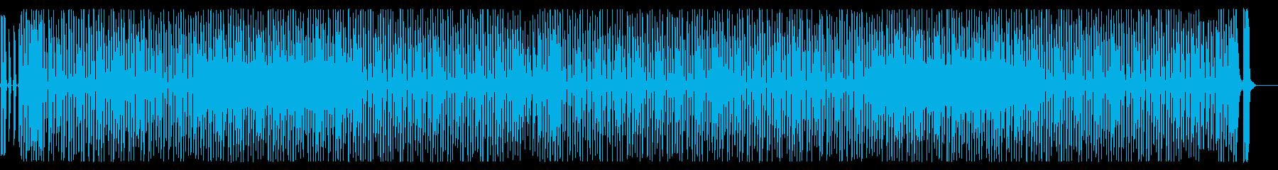 和風アクセントの効いたコミックテクノの再生済みの波形
