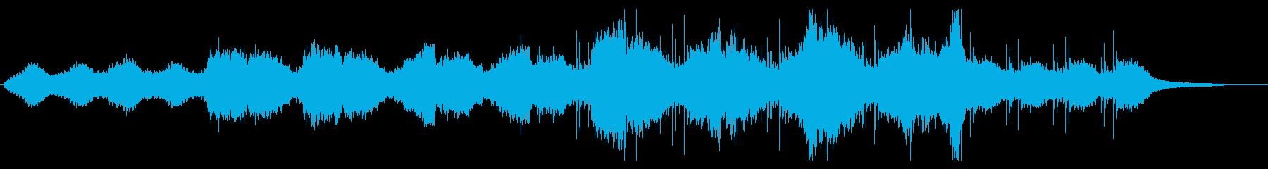 ドゥドゥクを使った物悲しいBGMの再生済みの波形