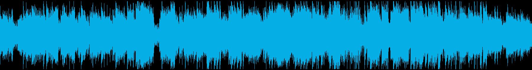 ほのぼの和洋折衷な日常BGM ※ループ版の再生済みの波形