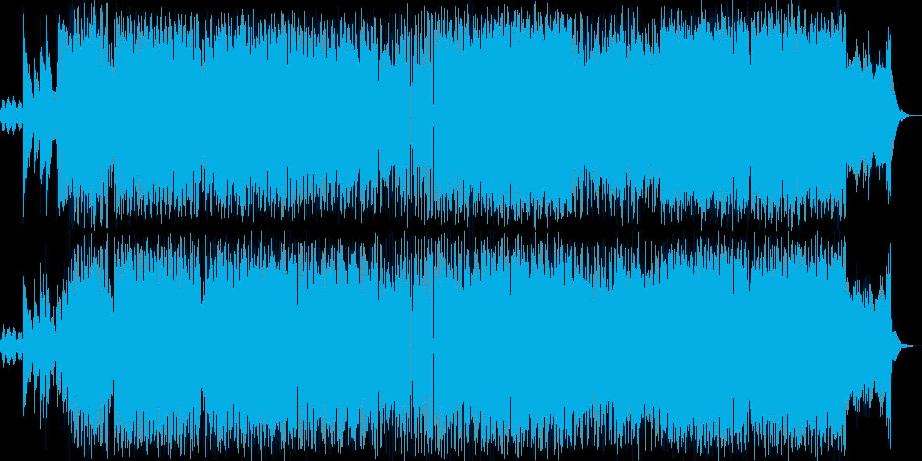物憂げなビッグビートの再生済みの波形