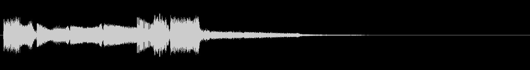 KANT近未来アラーム011042の未再生の波形