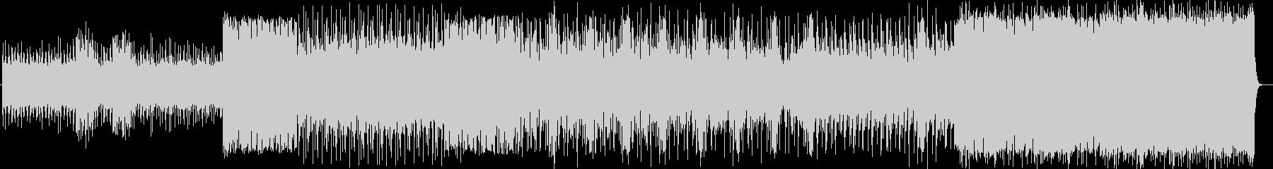 ロック エレクトロニカ ニューデジロックの未再生の波形