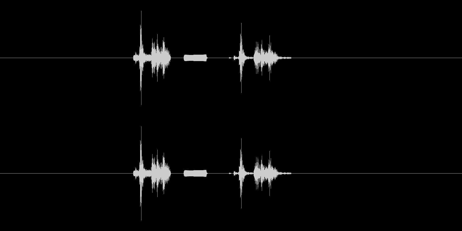 デジカメ風シャッター音_01の未再生の波形