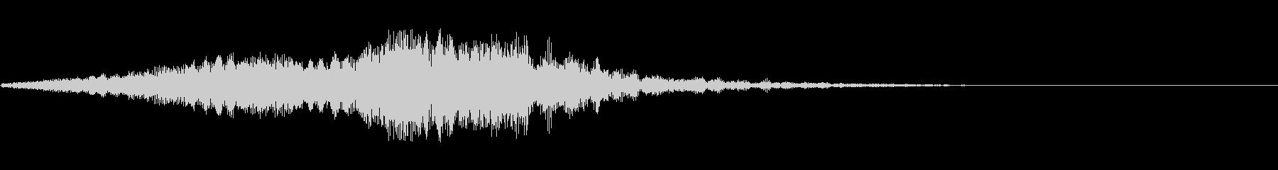 不気味な音13の未再生の波形