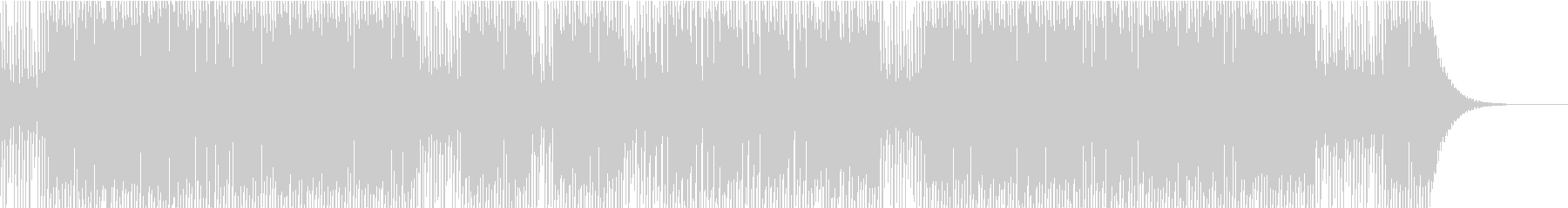 ミニゲームに合いそうなBGMの未再生の波形