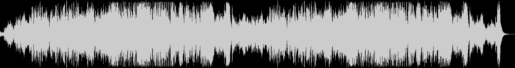 ゴースト演奏会の様なイメージ/ハロウィンの未再生の波形