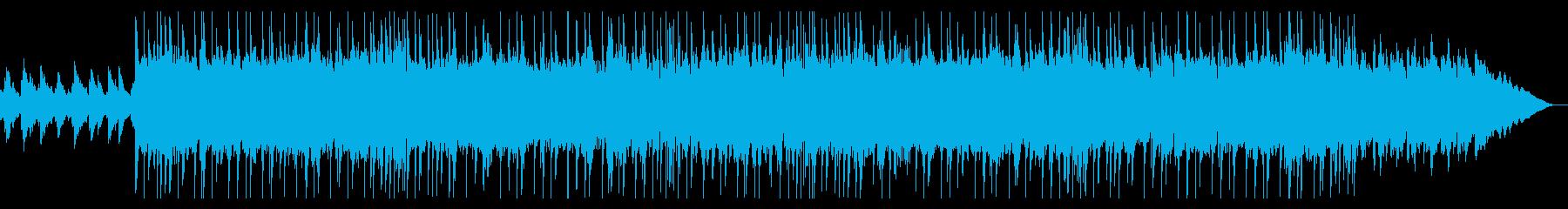 きらきらしたシンセとピアノの切ない楽曲の再生済みの波形