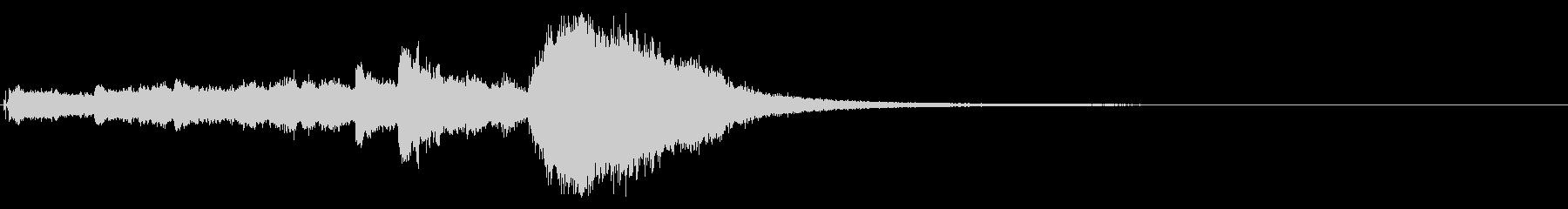 クリスマスベル&ボイスのサウンドロゴ!3の未再生の波形