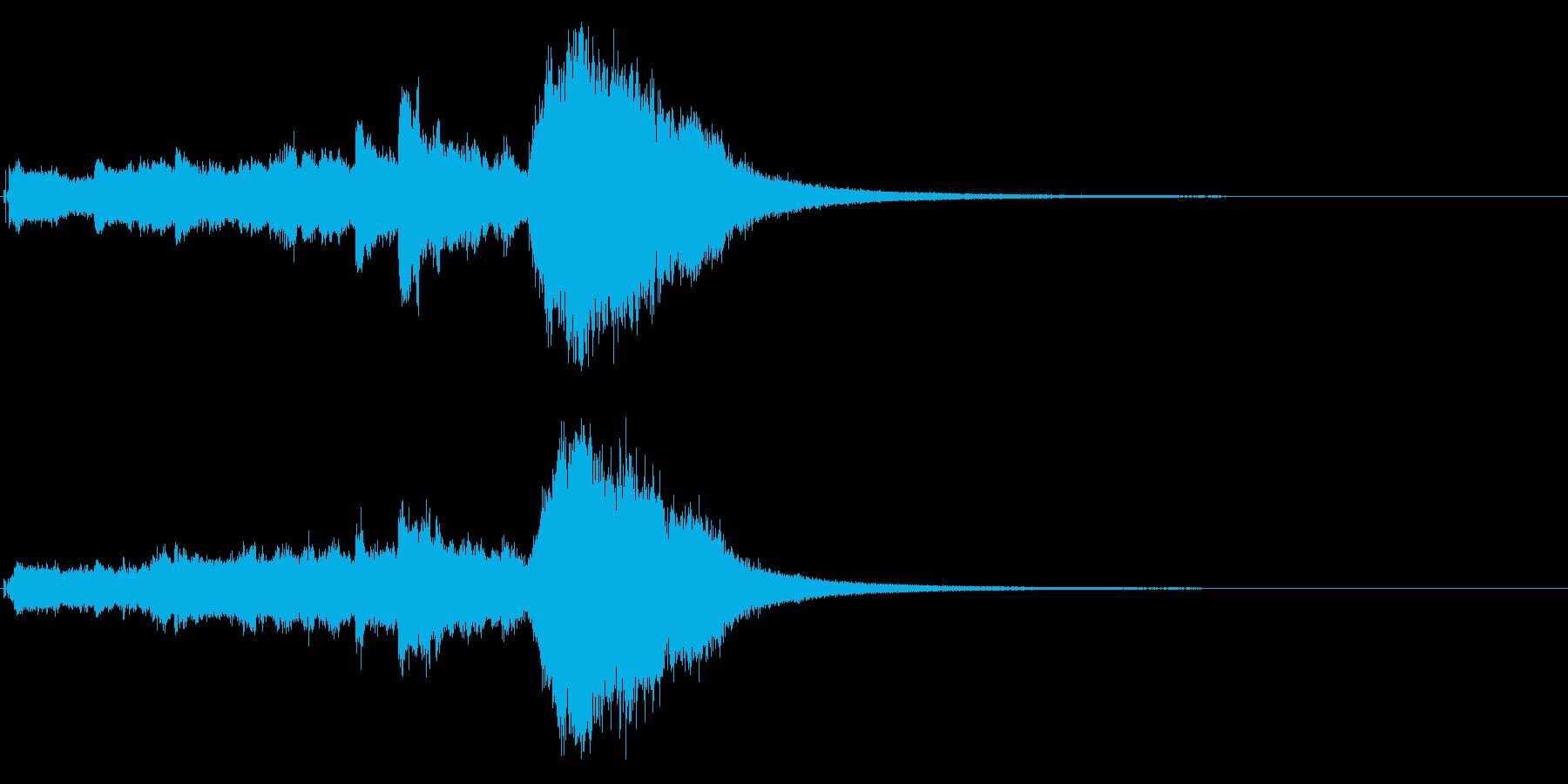 クリスマスベル&ボイスのサウンドロゴ!3の再生済みの波形