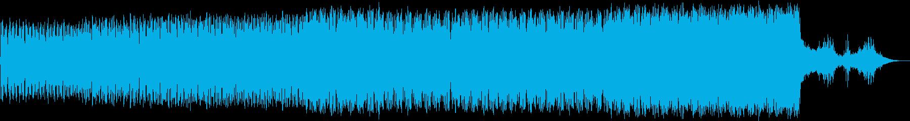 緊迫感のあるダークアンビエントの再生済みの波形
