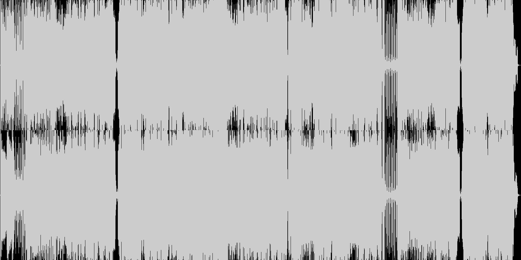 7拍子疾走感不思議ガールPOP王道ロックの未再生の波形