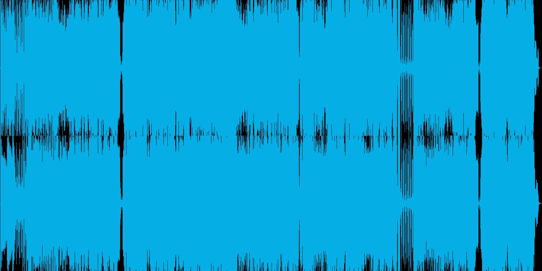 7拍子疾走感不思議ガールPOP王道ロックの再生済みの波形