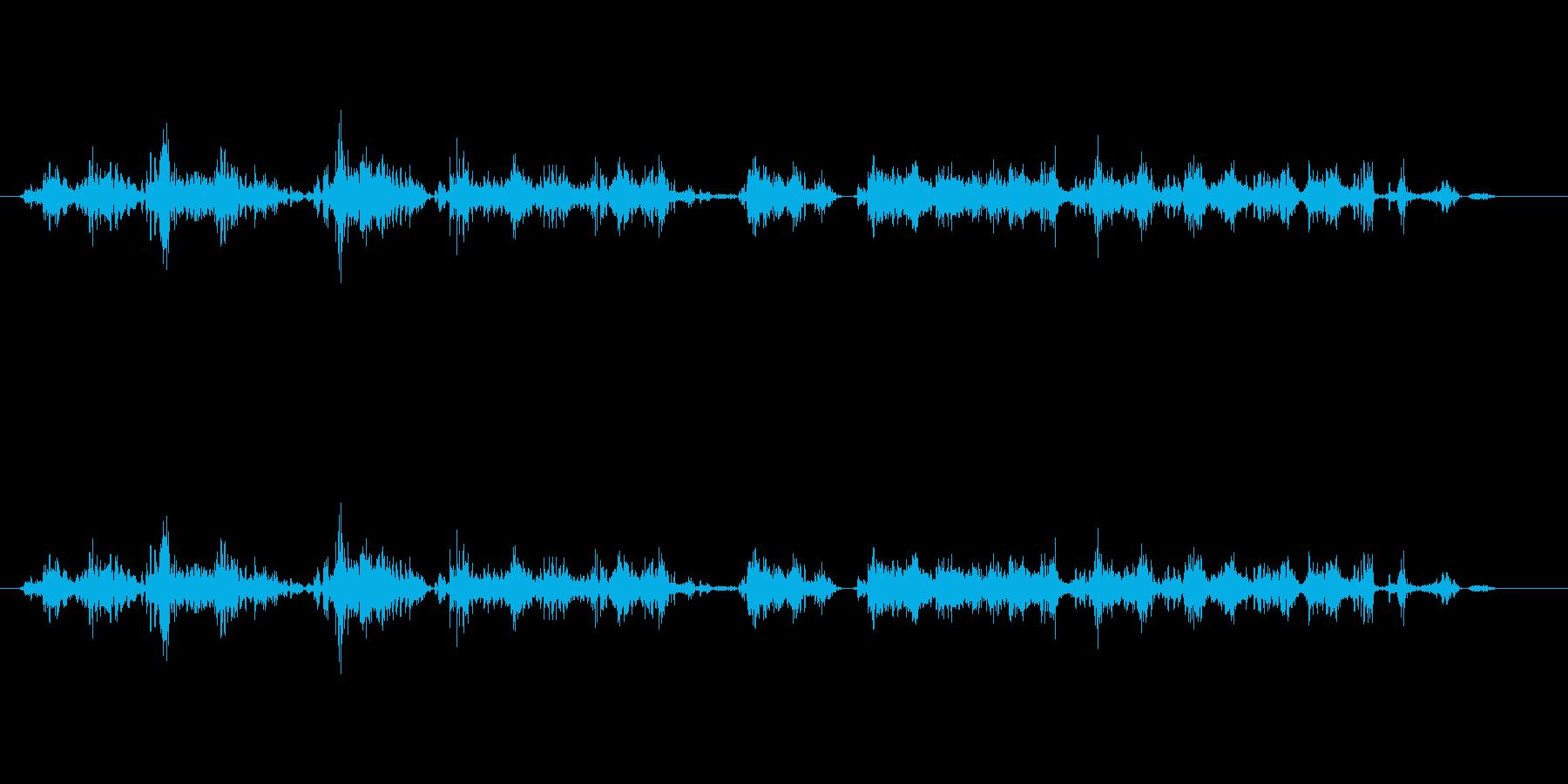 【鉛筆削り02-2(削る)】の再生済みの波形