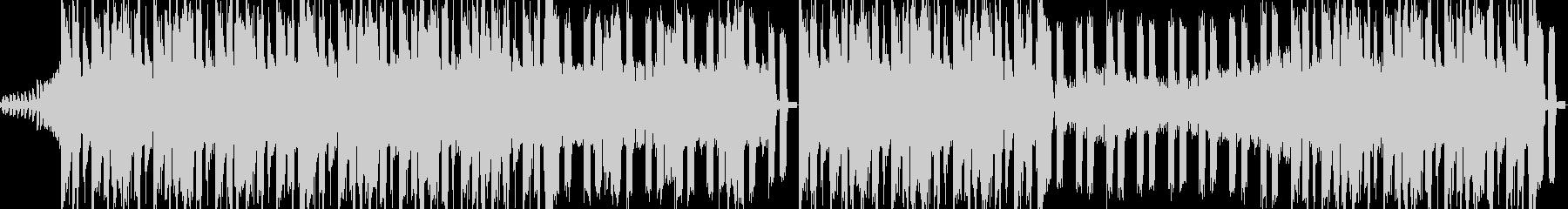 ダークでデジタルなロックの未再生の波形