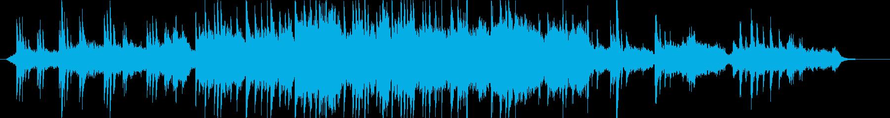 ピアノとストリングス自然の中にいるようなの再生済みの波形
