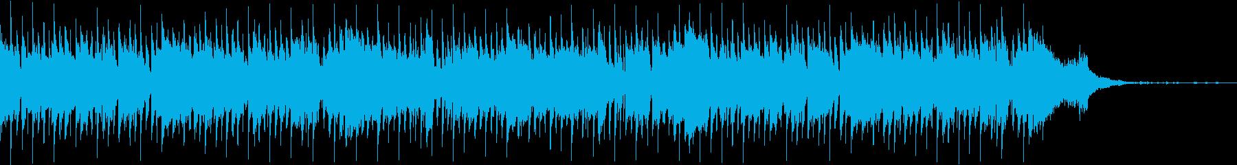 おしゃれでロマンチックなCM映像用ジャズの再生済みの波形