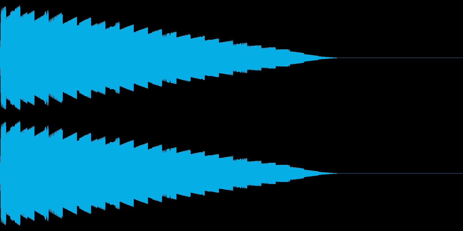 ピロリロ(ワープ/宇宙/ファミコンSFの再生済みの波形