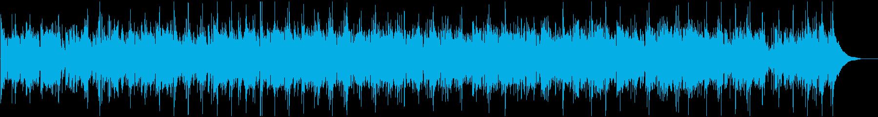 アイリッシュの哀愁のあるバイオリン民謡の再生済みの波形