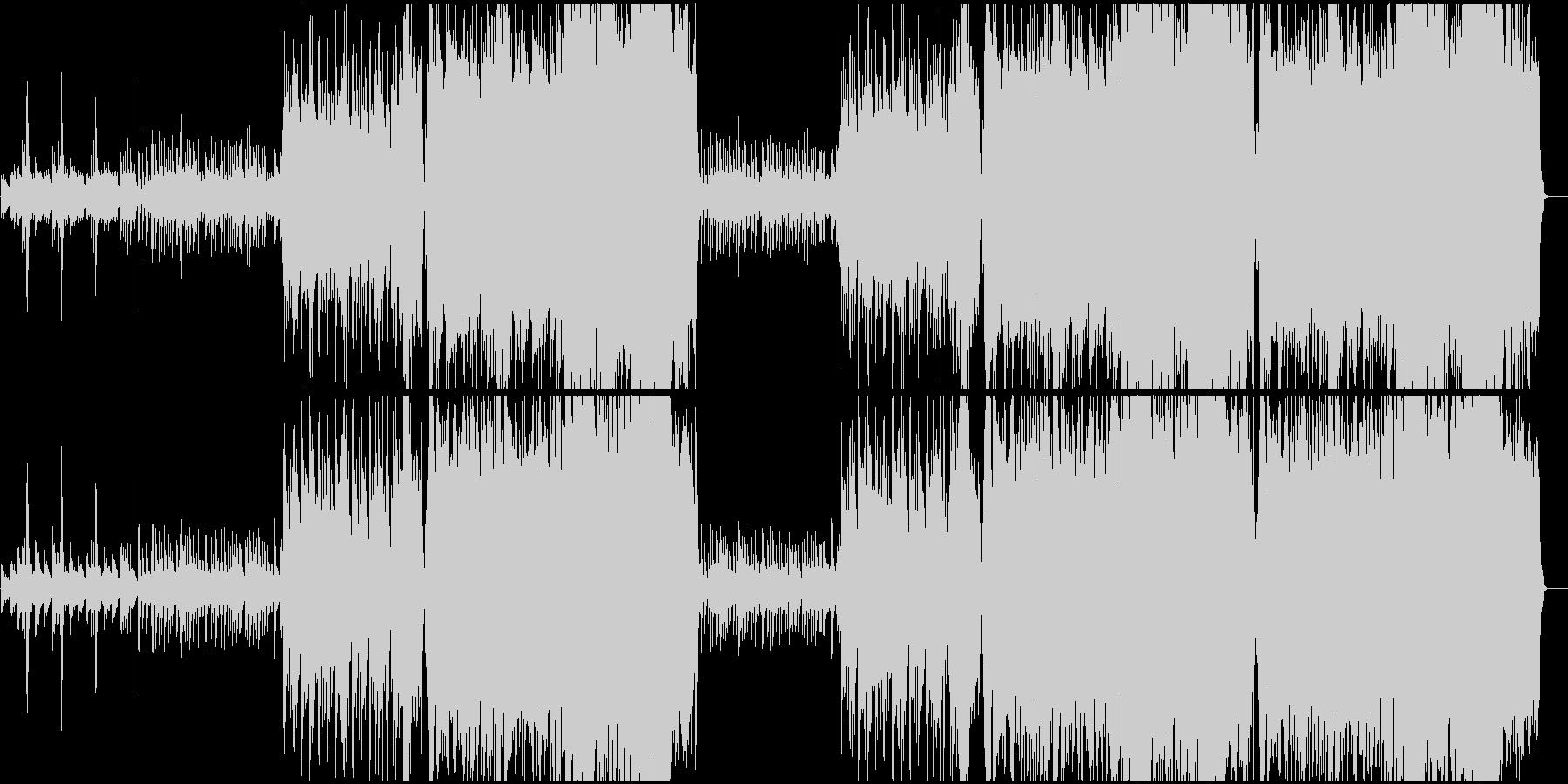 琴がメインの和風な曲です。の未再生の波形