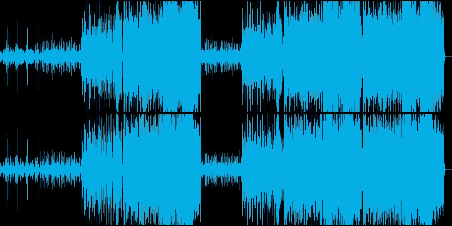 琴がメインの和風な曲です。の再生済みの波形