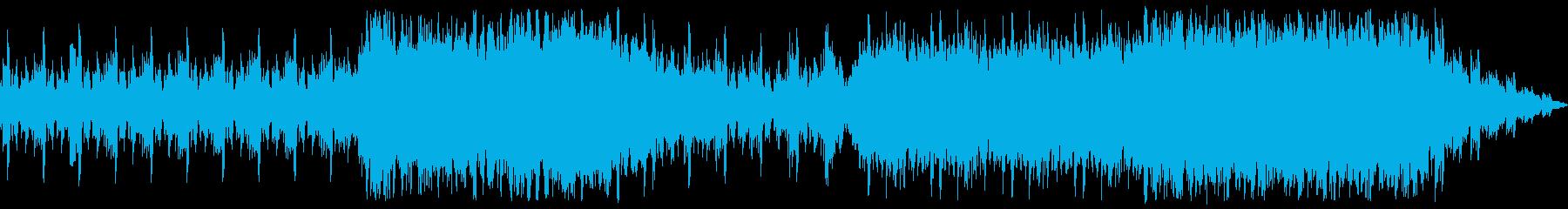 前向きなイメージのオーケストラ風サウン…の再生済みの波形