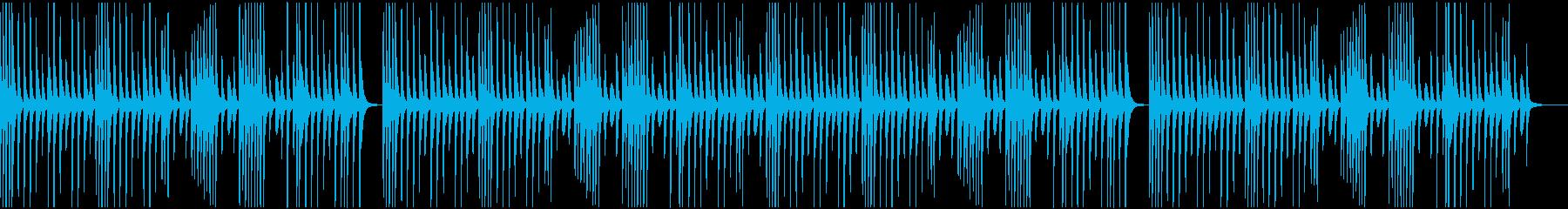 ほのぼのゆるめのマリンバBCMの再生済みの波形