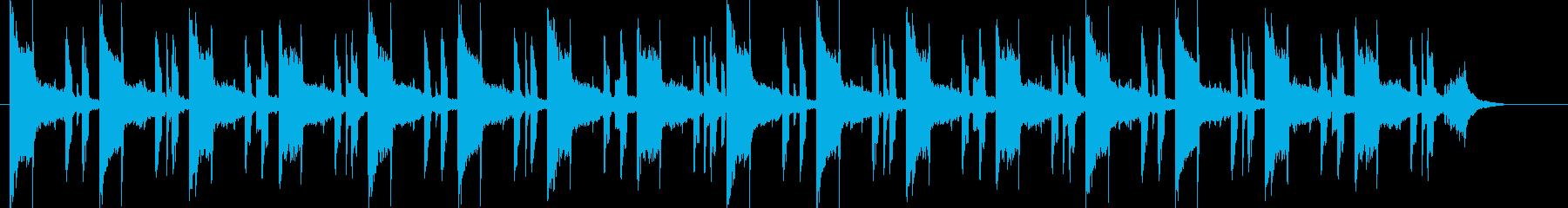 サイケデリックで眠いヒップホップSH版の再生済みの波形