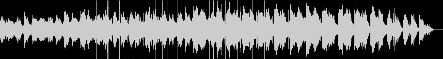 ゴシック・アンビエント・ピアノの未再生の波形