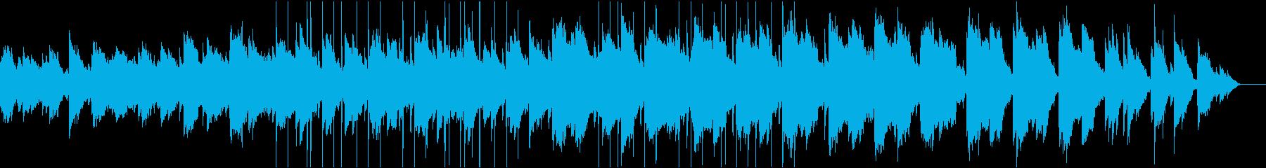 ゴシック・アンビエント・ピアノの再生済みの波形