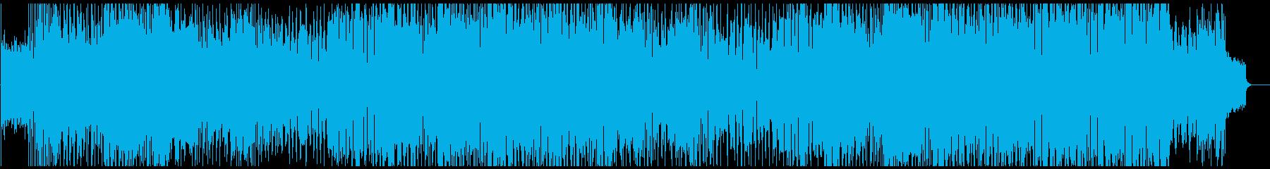 ダーク、ガガ風、和風、重いの再生済みの波形
