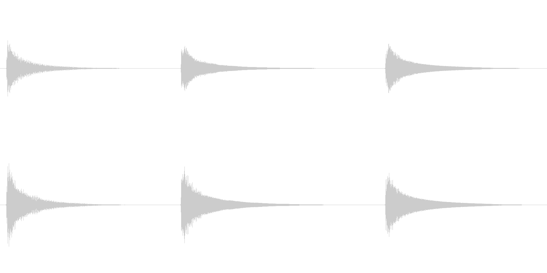 素材 ウエスタンギターコードハイデ...の未再生の波形