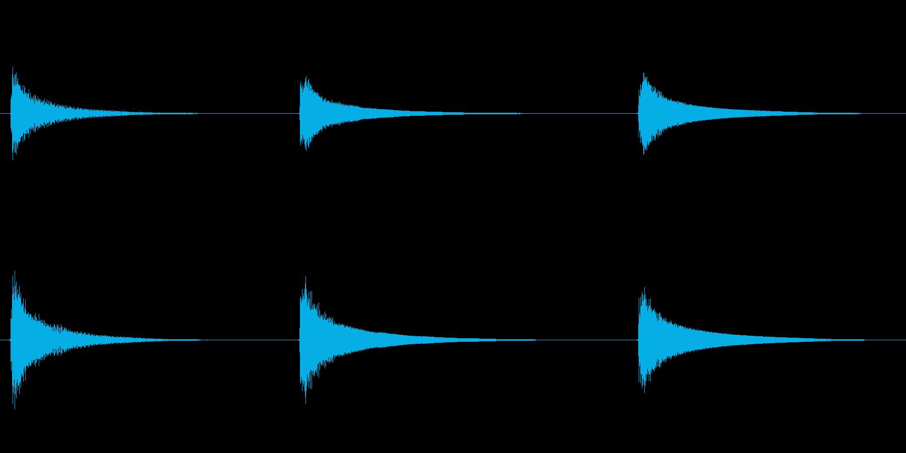 素材 ウエスタンギターコードハイデ...の再生済みの波形
