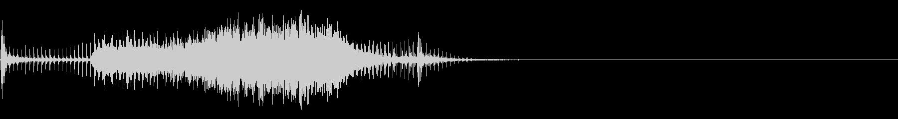 スパーク音-18の未再生の波形