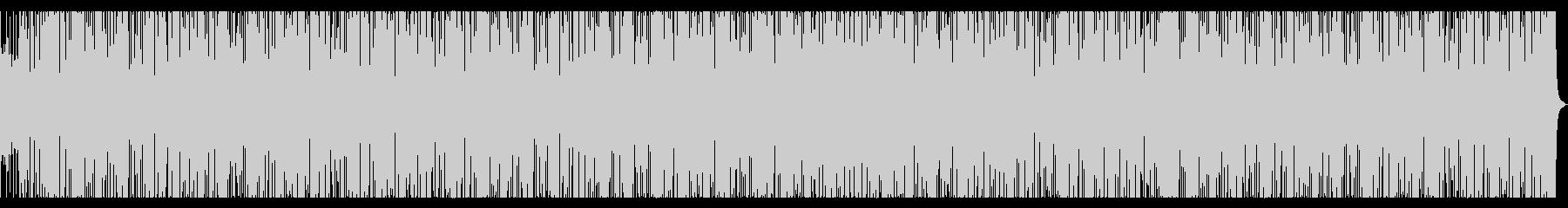 ジャズのBGM ちょっと引っかかるの未再生の波形