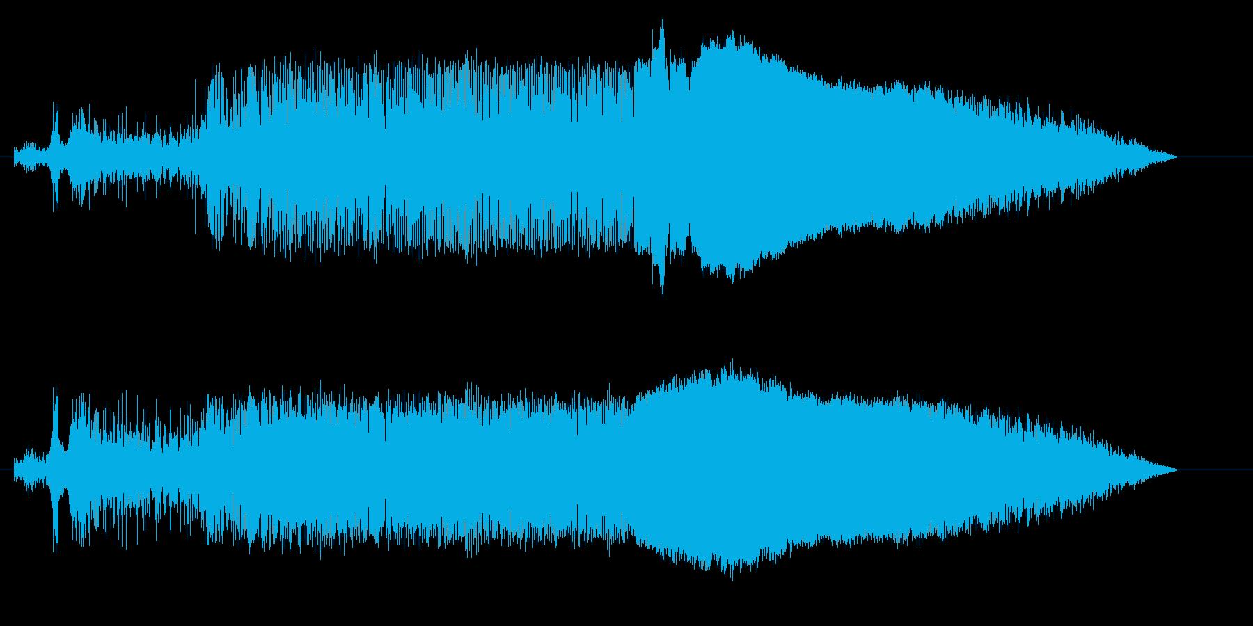 ドラッグボート;スタート/回転/ア...の再生済みの波形
