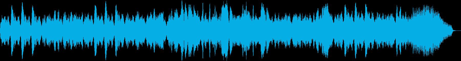 フルートとチェンバロのオリジナルバロックの再生済みの波形