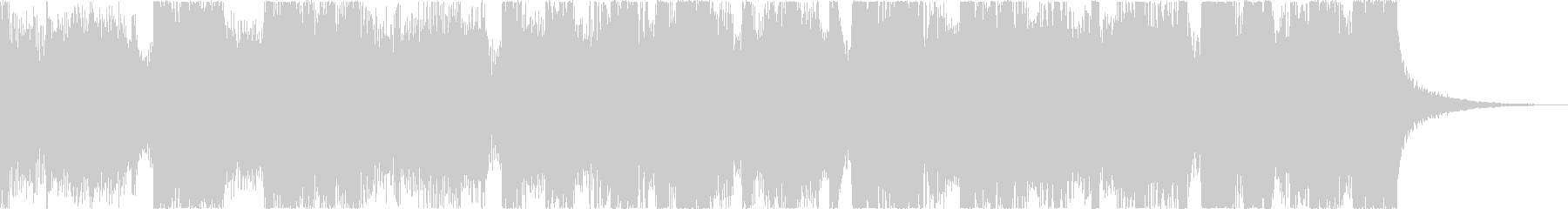 おしゃれレトロディスコシティポップfの未再生の波形