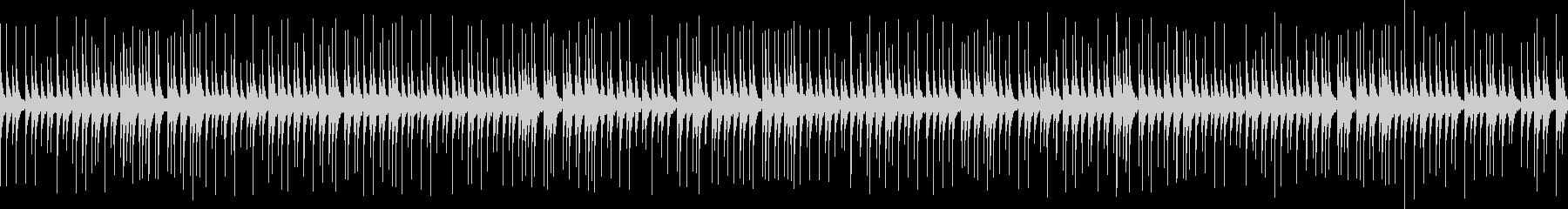 よく聴く伝統的な相撲の寄せ太鼓 ループの未再生の波形