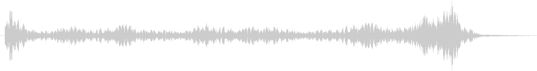 Movie-style, Epic, tense drum roll's unreproduced waveform