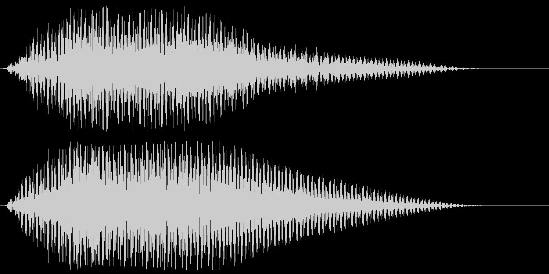 サウンドロゴ【宇宙】光の未来・壮大な空間の未再生の波形