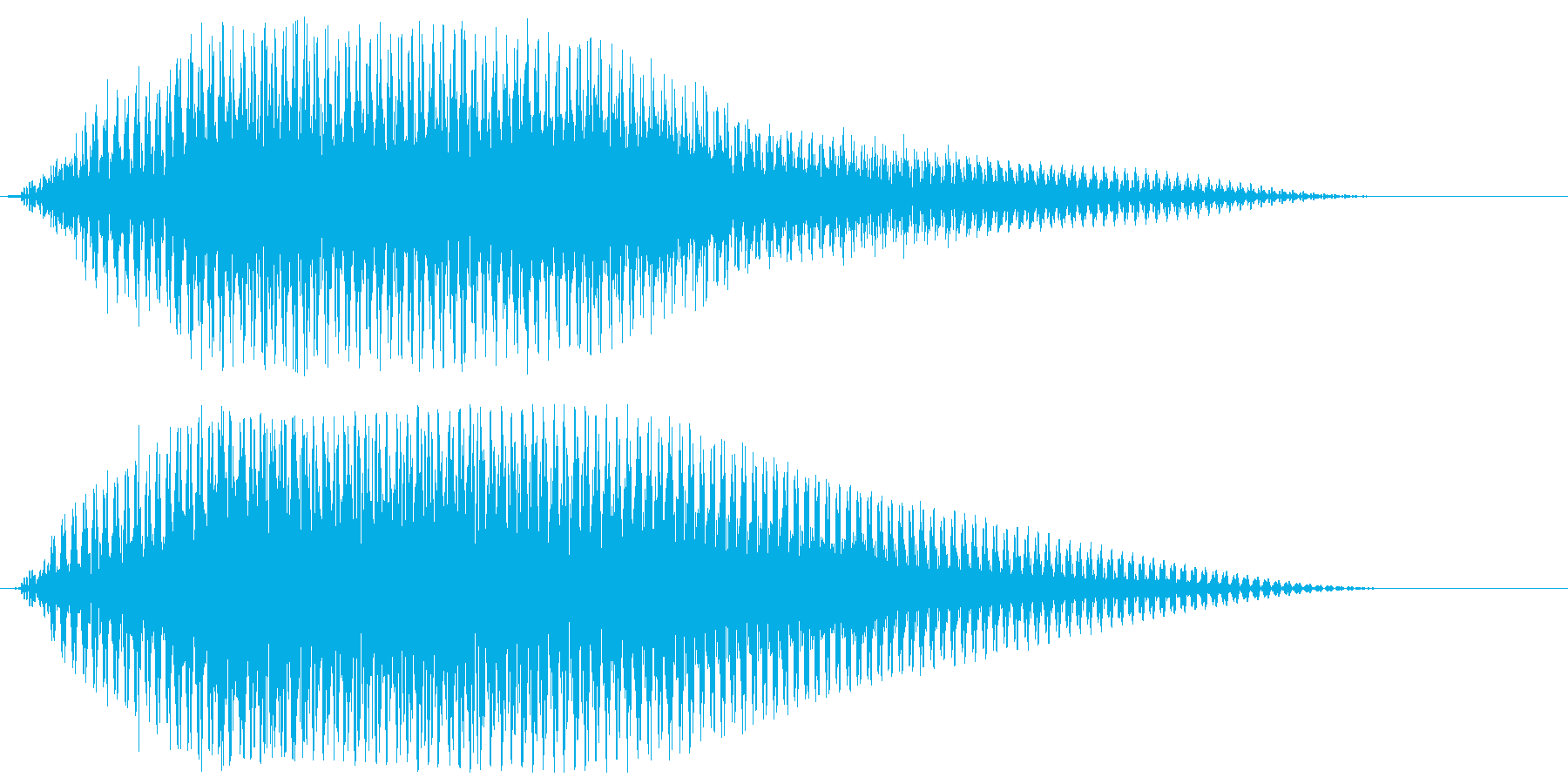 サウンドロゴ【宇宙】光の未来・壮大な空間の再生済みの波形