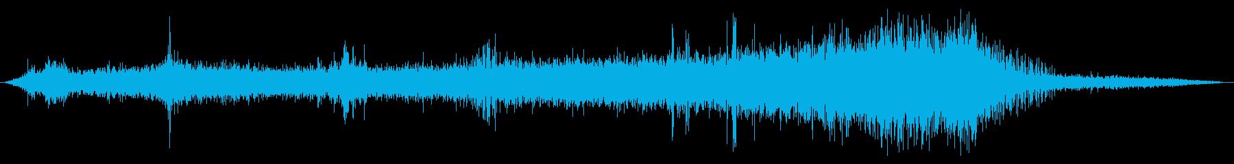 両生類のツインプロップ飛行機:内線...の再生済みの波形