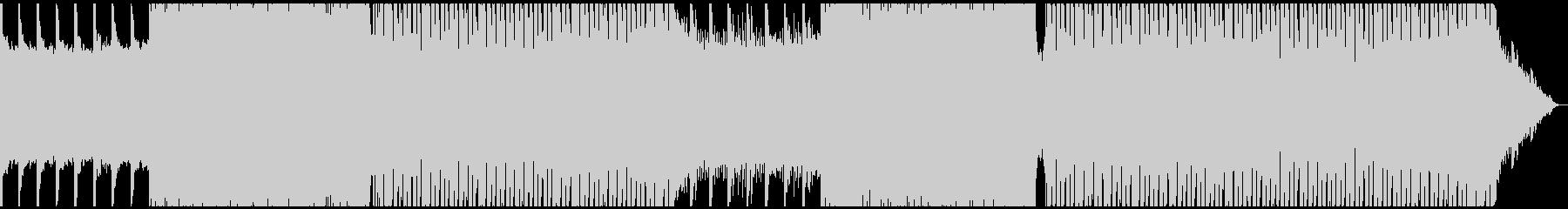 エレクトロ オーロラ ミドルテンポの未再生の波形